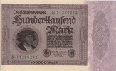 Germany 100.000 Mark GISZE P.83a