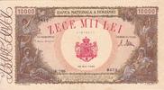 10.000 Lei 1945 Romania FARM WIVES P.57 I-  30,00 EUR  plus 5,00 EUR verzending