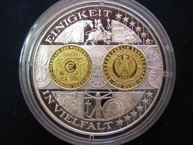 1200 Jahre Deutsche Münze Gedenkprägung I100 Euro Goldi Fb Ma