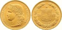 20 Franken Gold 1896  B Schweiz-Eidgenossenschaft  Winzige Kratzer, vor... 265,00 EUR  Excl. 7,00 EUR Verzending