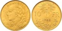 Schweiz-Eidgenossenschaft 10 Franken Gold