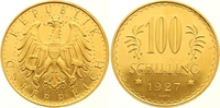 100 Schilling Gold 1927 Österreich Erste Republik 1918-1938. Winzige Kr... 1100,00 EUR Gratis verzending