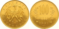 100 Schilling Gold 1931 Österreich Erste Republik 1918-1938. Winzige Kr... 1100,00 EUR Gratis verzending