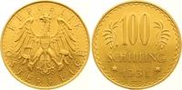 100 Schilling Gold 1931 Österreich Erste Republik 1918-1938. Vorzüglich... 975,00 EUR  Excl. 7,00 EUR Verzending