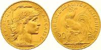 Frankreich 20 Francs Gold Dritte Republik 1870-1940.