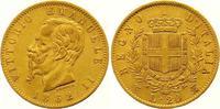 Italien-Königreich 20 Lire Gold Vittorio Emanuele II. 1859-1861-1878.