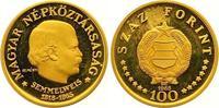 Ungarn 100 Forint Gold Volksrepublik 1949-1989.