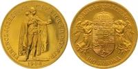 Haus Habsburg 100 Kronen Gold Franz Joseph I. 1848-1916.