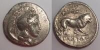 AR Nomos / Didrachme 305-290 BC Lucania / Lukanien Velia - Athena & Lio... 350,00 EUR  zzgl. 12,00 EUR Versand