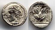 Hemiobol 450-420 BC Thrace / Thrakien Trieros - Apollo & branch Extreme... 350,00 EUR  zzgl. 12,00 EUR Versand