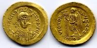 AV Solidus  OSTROGOTHS / OSTGOTEN Theodoric, in the name of Zeno, 493-5... 1600,00 EUR  zzgl. 15,00 EUR Versand
