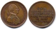 Kupferabschlag / 2 Francs 1806 Bayern / Bavaria Maximilian IV. (I.) Jos... 180,00 EUR  zzgl. 10,00 EUR Versand