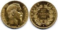 France / Frankreich 20 Francs Napoleon III