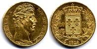 20 Francs 1828 A France / Frankreich Charles X vorzueglich  650,00 EUR  zzgl. 12,00 EUR Versand