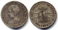 Spain / Spanien 1 Peseta Alfonso XIII