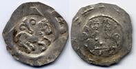 Nürnberg AR Pfennig Reichsmünzstätte - Friedrich II. 1215-1250