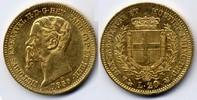 Italy / Italien 20 Lire Sardina, Vittorio Emanuele II // Victor Emanuel II