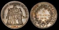5 Francs 1873 A Frankreich / France Dritte Republik / Third Republic fe... 450,00 EUR  zzgl. 12,00 EUR Versand