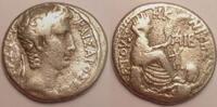 Syria / Syrien AR Tetradrachm / Tetradrachmon Seleucis and Pieria, Antioch, Augustus 27 BC-14 AD