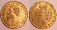 20 Lire 1860 Torino Italy / Italien Sardina, Vittorio Emanuele II // Vi... 320,00 EUR  zzgl. 12,00 EUR Versand