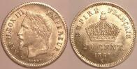 20 centimes 1867 K France / Frankreich Louis XVIII Sehr schön-vzgl  135,00 EUR  zzgl. 10,00 EUR Versand
