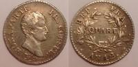 1/4 Franc / Quart Franc An 12 A France / Frankreich Napoleon Bonaparte ... 180,00 EUR  zzgl. 10,00 EUR Versand