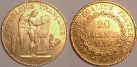 20 Francs 1879 France / Frankreich Third republic / Dritte Republik Seh... 320,00 EUR  zzgl. 12,00 EUR Versand