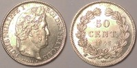 50 centimes 1846 W France / Frankreich Louis Philippe vzgl  775,00 EUR  zzgl. 12,00 EUR Versand