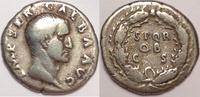 AR denarius / AR denar  Roman Empire / Römische Kaiserzeit Galba. 68-69... 280,00 EUR  zzgl. 12,00 EUR Versand