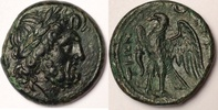 AE Unit / Drachm 216-214 BC Bruttium The Brettii fast vzgl  280,00 EUR  zzgl. 12,00 EUR Versand
