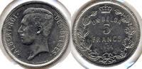 Belgien / Belgium 5 Francs French legen / Französche text