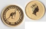 Australien 5 Dollars Australien Nugget - Känguru 1/20 Unze Gold