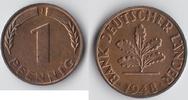 BRD 1 Pfennig Kursmünze
