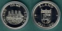 100 Markkaa 1991 Finnland Aland stgl.  22,00 EUR  zzgl. 3,90 EUR Versand