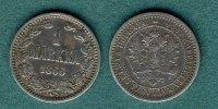 1 Markka 1866 Finnland Alexander II. f.ss  16,90 EUR  zzgl. 3,90 EUR Versand