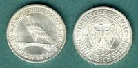3 Reichsmark 1930 J Weimarer Republik Rheinlandräumung vz/stgl.  59,00 EUR  zzgl. 4,90 EUR Versand