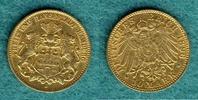 10 Mark 1896 J Hamburg Stadtwappen ss  235,00 EUR  zzgl. 4,90 EUR Versand