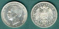 5 Mark 1913 G Baden Friedrich II. vz/stgl.  169,00 EUR  zzgl. 4,90 EUR Versand