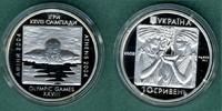 10 Hryven 2002 Ukraine Olympiade-Schwimmer PP  22,50 EUR  zzgl. 3,90 EUR Versand
