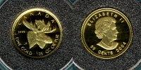 50 Cents 2004 Canada Elch  1/25 oz. Au PP  72,50 EUR  zzgl. 4,90 EUR Versand