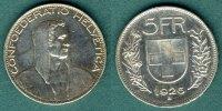5 Franken 1926 Schweiz Alphirte f.vz  129,00 EUR  zzgl. 4,90 EUR Versand