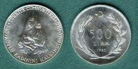 500 Lira  1980 Türkei FAO / Mutter mit Kind vz/stgl.  13,90 EUR  zzgl. 3,90 EUR Versand