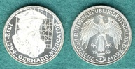 5 DM 1969 F Bundesrepublik Gerhard Mercator  ' Langes R ' vz/stgl ... 45,00 EUR  zzgl. 3,90 EUR Versand