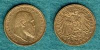 10 Mark 1903 F Württemberg Wilhelm II. ss/vz  240,00 EUR  zzgl. 4,90 EUR Versand