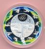 NEUSEELAND 1 Dollar NZ NEUSEELAND, 1 Dollar 2016 Olympiade Rio, Silber Farbe im Etui mit Zertifikat