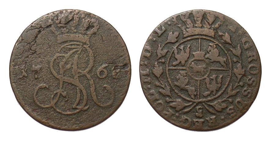 Polen Groschen 1768 Europa (ohne €) schön