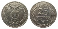 Kaiserreich 25 Pfennig