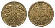 Weimarer Republik 10 Pfennig
