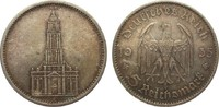 Drittes Reich 5 Mark Kirche ohne Datum