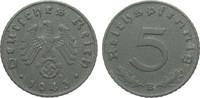 Drittes Reich 5 Pfennig